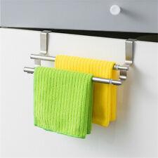 Handtuchstange Ausziehbar Handtuchhalter Tuchhalter 2 Armig Türhandtuchhalter