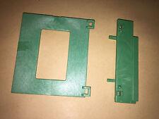 Playmobil  Rückwand Klappe mit Schanier grün rechts - Drug-Store 3424 / 3462 2.V