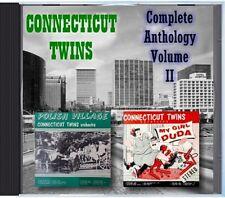 MZ 187 - Connecticut Twins - Complete Anthology Volume II - POLKA CD