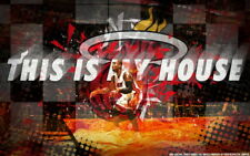 "010 Dwyane Wade -  D wade Miami Heat NBA MVP Basketball 38""x24"" Poster"