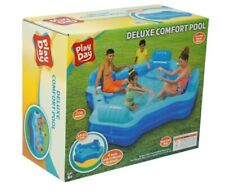 New listing New Play Day Inflatable Deluxe Comfort Family Swimming Pool