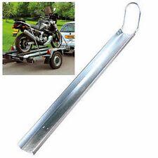 Rail porte moto avec fourche avant
