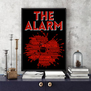The Alarm/Mike Peters Songs Portrait 68 Guns /Keepsake/Gift/Collectable Freepost