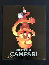 AD Bitter Campari Alcoholic Beverage - Poster Print 16x20 - Original Vintage
