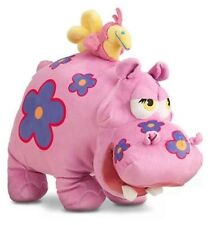 Disney Store It's A Small World Zambia Jungle Blossom Plush Hippo & Bird
