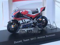 Spark 1/43 Ducati GP17 Team Ducati #4 Winner Mugello Gp 2017 A. Dovizioso M43045