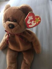 New listing Ty Beanie Baby Teddy the Bear New Face Style 4050 Retired - 4th/3rd Generation