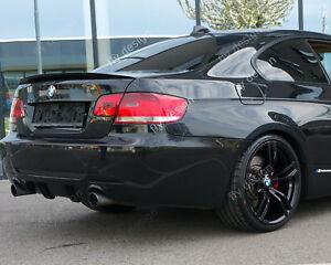 für BMW 3 E 92 Coupe Aerodynamik Tuning Heckspoiler Spoiler becquet felgen levre