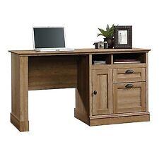 sauder barrister lane scribed oak computer desk