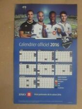 2016 Montreal Impact Major League Soccer (BMO) official team magnet schedule