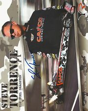 Steve Torrence Top Fuel Dragster Signed 8X10 Color Photo Card Auto '05 Nhra Chmp