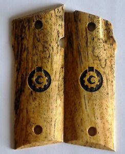 COONAN, MODEL A .357 Magnum Classic  Spalted WOOD GRIPS C-2 NICE! w/logo
