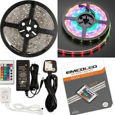 Outdoor Indoor 36W 5M IP44 RGB LED STRIP Tape Light Remote Waterproof Bathroom