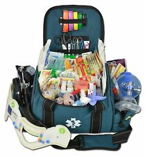 Lightning X Deluxe Stocked Large EMT First Aid Trauma Bag Fill Kit w/ Supplies B