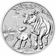 2021 Year of the Ox 1oz .9999 Silver Bullion Coin – Lunar Series III - PM