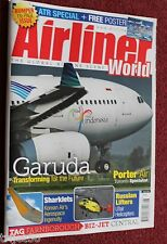 Airliner World 2014 August Garuda,Porter Air,ATR,UTair