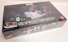 In STOCK Bandai Star Wars Luke Skywalker Stormtrooper Ver 1/12 Plastic Model Kit