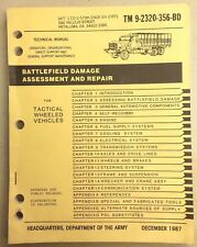 Battlefield Damage Assessment, and Repair Technical Manuel, Tactical, G503
