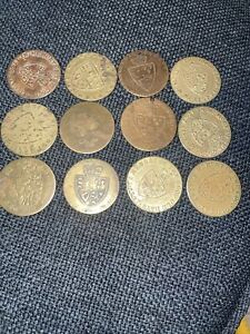 12- George III Memory Of The Good Old Days Dei Gratia Tokens