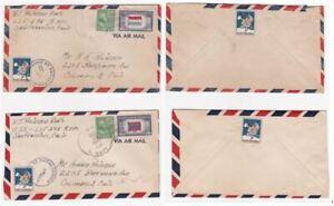 Cover: x2 / 1944 Christmas Seals SC#WX119 Tied Naval Censor / Prexie / Navy