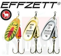 Fishing Lures Spinners DAM EFFZETT EXECUTOR Sea Trout Pike Perch Tackle Predator