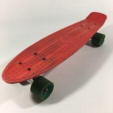 Vintage? Chicago Skates Red Skateboard With Kicktail