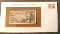 Banknotes of All Nations Austria 20 Shilling  1967 UNC P 142 Prefix J