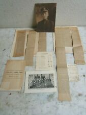 Vtg USN 1907 Photo Navy Football Game Program Harvard Newspaper Album RARE Lot