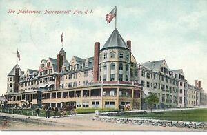 NARRAGANSETT RI - The Mathewson Narragansett Pier - udb - 1906