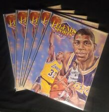 Five Magic Johnson Legends Sports Memorabilia Magazines.