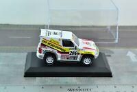 Altaya Mitsubishi Pajero 4X4 Paris Dakar Rally Racing SUV Die Cast 1/43 Scale