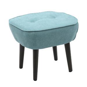 Large Footstool Dressing Table Chair Vanity Stool Bedroom Makeup Seat Rest Stool