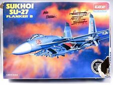 1/48 Academy Sukhoi Su-27 Flanker B - Complete - 2131 Russian/Soviet Fighter