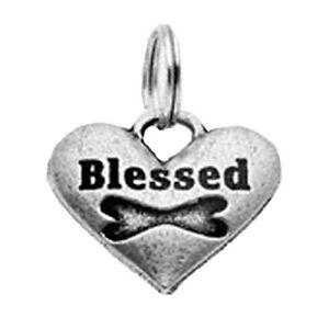 Big Paw Dog Cat Collar Charm - Blessed Dog Heart