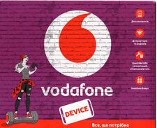 """Vodafone Ukraine Simcard Prepaid """"Device"""" mit 7 GB Internet + 1 monat kostenlos"""