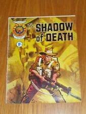 LION PICTURE LIBRARY #88 SHADOW OF DEATH BRITISH COMIC POCKET BOOK