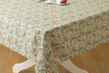 William Morris Golden Lily 132cm x 178cm  Cotton Floral Tablecloth