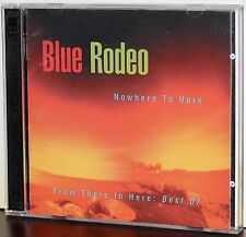 WEA PROMO 2-CDs CDN-57: BLUE RODEO - Nowhere to Here, Best of...Sampler 1995 CAN
