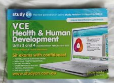 VCE HEALTH & HUMAN DEVELOPMENT UNITS 3 AND 4  BOOKLET 2014-2017  USED VERY GOOD