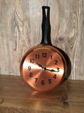 Coppercraft Guild Copper Pot Clock Wall Hanging Copper Pot B4