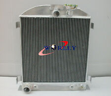 For 64mm Brand New 1932 Ford Chopped Ford engine 32 AT/MT Aluminum Radiator