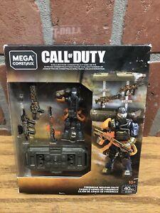 NEW Mega Construx Call of Duty FIREBREAK WEAPON CRATE GCN93 COD 40 pcs 2018