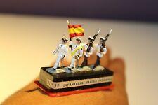 ALYMER Miniploms nº12. Soldados de plomo. 20mm (1:87). Infant. marina verano