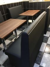 Complete Booth Seating with table top and base - Restaurant Bar, Cafe Or Home