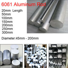 Φ150mm x 20mm ALUMINUM 6061 Round Rod 150mm Diameter Solid Lathe Bar Stock Cut