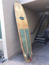 "Brian Smith 9'6"" Longboard used with sock"