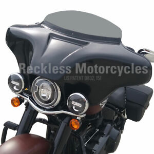 "Batwing Fairing Harley Davidson 94-17 Fatboy / LO 4x5.25"" + PMX2 Stereo"