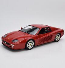 Hot Wheels 29758 Ferrari F 512 M Testarossa Sportwagen Bj.1984, 1:18, OVP, K002