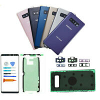 For Samsung Galaxy Note 8 N950 Front Screen Glass Back Replacement Kit+Lens Tool