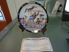 NFL Oakland Raiders Danbury Mint Collector Plate Spectacular Spectator!